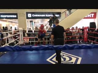Дмитрий Яковлев(синий угол) vs Игорь Гизатулин(красный угол)