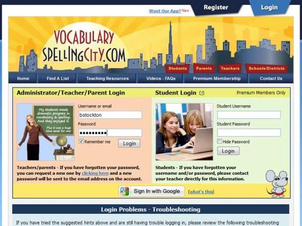 List Ordering - VocabularySpellingCity