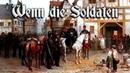 Wenn die Soldaten ✠ [German folk song][ english translation]