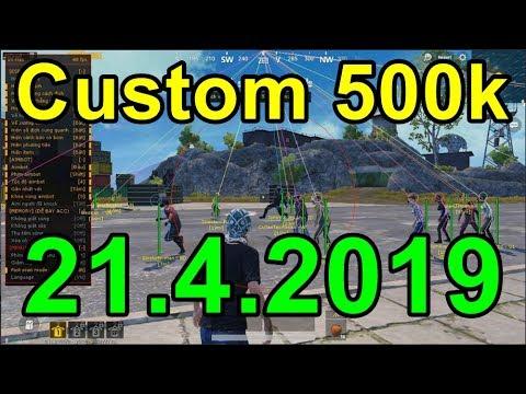 PUBG Mobile PC VNG 2142019 - 14h Custom Hack 500k Chủ Nhật Hàng Tuần