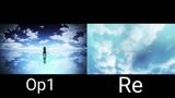 Tokyo ghoul op1 (Unravel) VS Tokyo ghoul re (asphyxia)