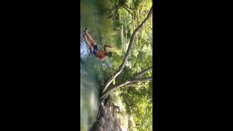 Леший горной родниковой реки