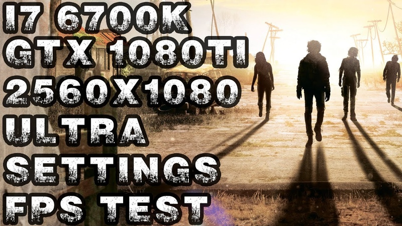 State of Decay 2 | i7 6700k | Gtx 1080 Ti | 21:9 2560x1080 | Ultra Settings FPS TEST