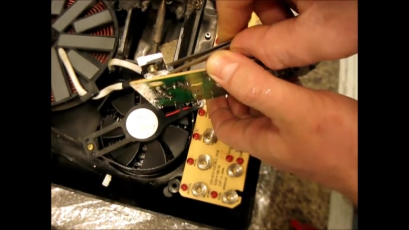 РЕМОНТ ИНДУКЦИОННОЙ ПЛИТЫ 90% всех поломок Repair induction cooker 90% of all