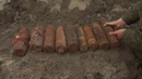 Учение по поиску взрывоопасных предметов с саперами Балтийского флота