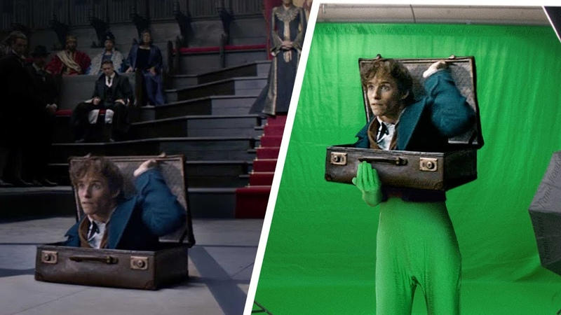 Amazing Before After Hollywood VFX: Fantastic Beasts and Where to Find Them