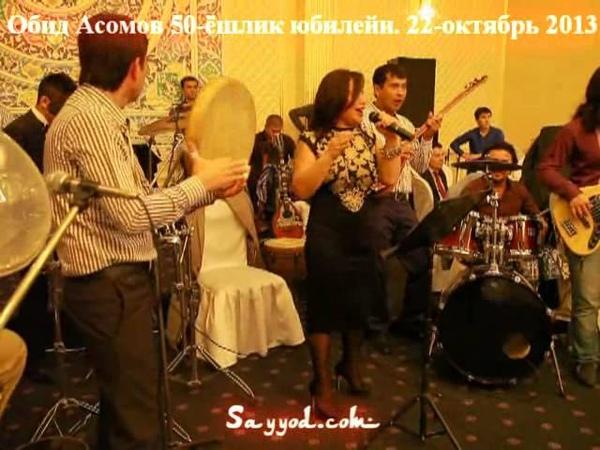 Obid Asomov Yubiley 50 yoshda