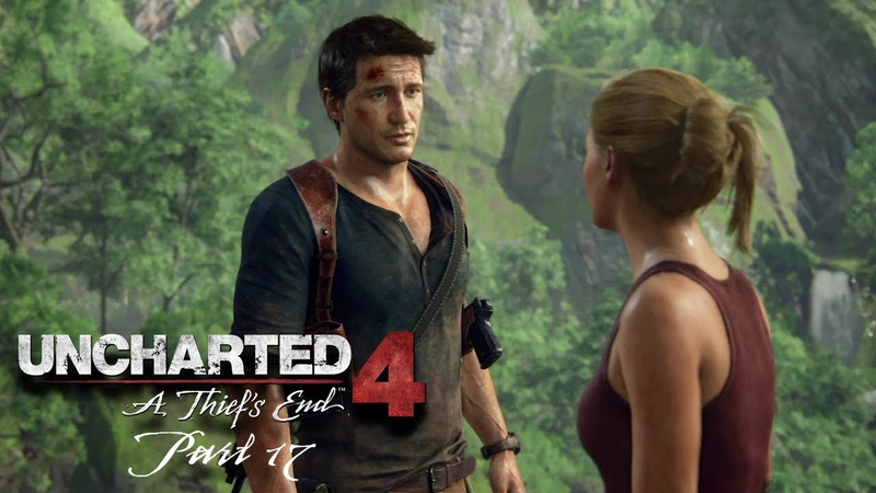 Uncharted 4 A Thief's End Walkthrough Gameplay Part 17 - For Better Or Worse (PS4)
