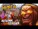Sumiya Invoker God NEW AUTUMN TERRAIN in Dota 2 Epic Cataclysm Combo