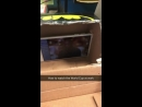 Lad hides his phone in a box at work so he can watch the world cup