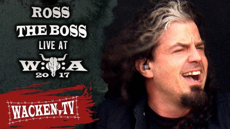 Ross the Boss - 3 Songs - Live at Wacken Open Air 2017
