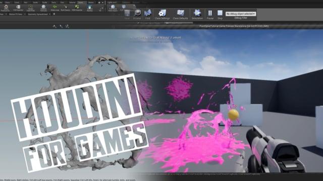 VAT Paintsplat! | Andreas Glad | Houdini for Games