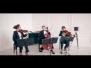 струнное трио - музыканты на встречу гостей. Скрипка, виолончель