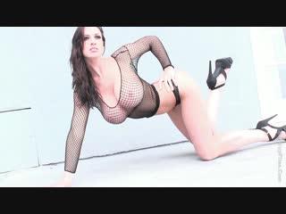 Lana Kendrick / Black fishnet 1