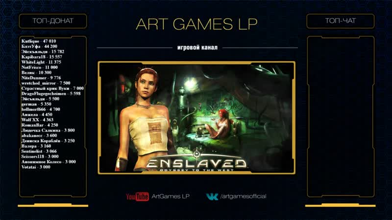 (1) Enslaved: Odyssey to the West от ArtGamesLP | СЛОЖНОСТЬ HARD | 17.07.2019