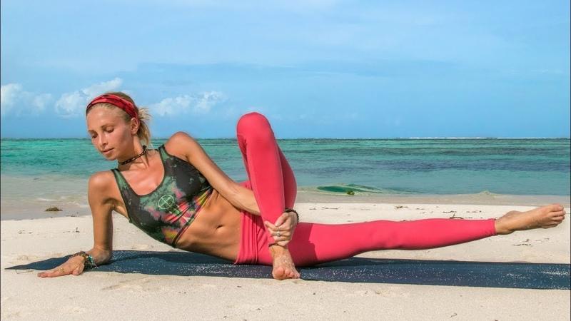 Best Leg Toning Workout ♥ 10 Minute Glutes Thighs Maldives