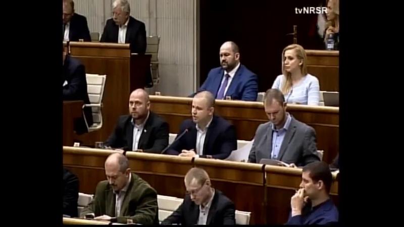 M. Mazurek návrh uznesenia na odsúdenie vraždy Štefana v Dobšinej (43. schôdza - 26. 3. 2019)