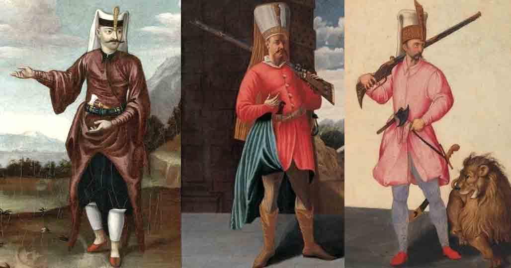 Янычары в живописи