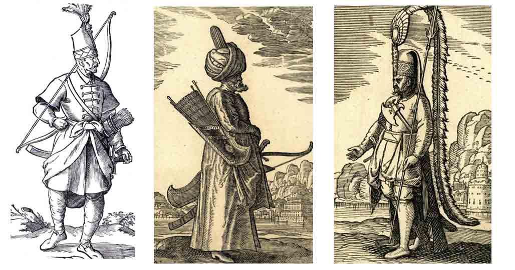 Янычары на гравюрах