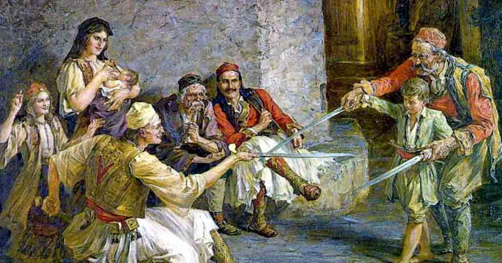 Фехтование балканцев