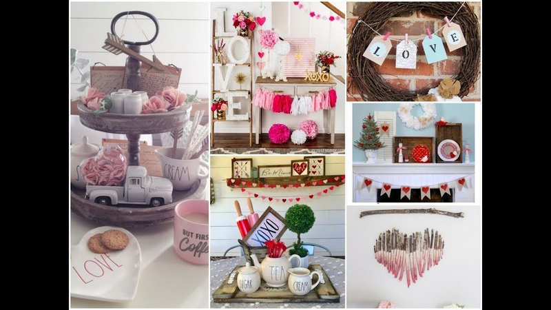 50 Farmhouse Inspired Valentine's Day Home Decorating Ideas