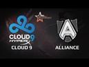 DH Bucharest WB Final Cloud9 vs Alliance Game 1