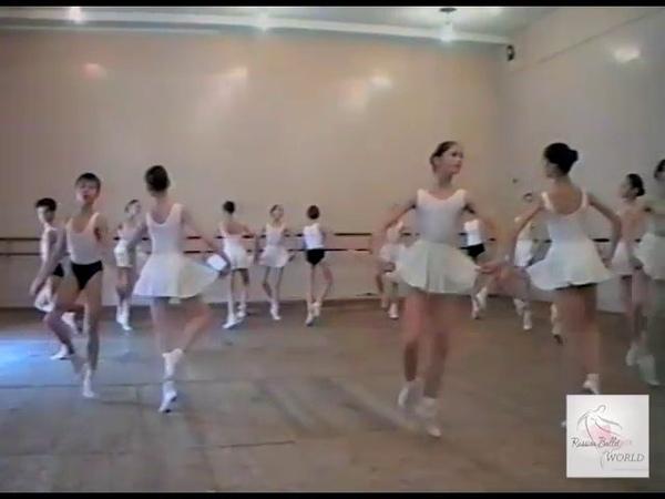 Vaganova Ballet Academy. Historical Dance Exam 1/5 (1995). Sysoeva, Novikova, Lobuhin