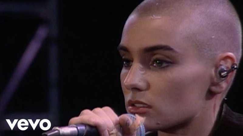 Sinead OConnor - Nothing Compares 2 U (Live)