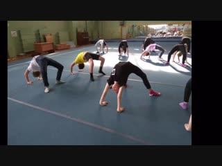 Команда 1 (Варвара, Полина, Женя, Аня Ш., Ксюша, Ульяна)
