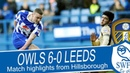 HIGHLIGHTS | Sheffield Wednesday 6 Leeds United 0 | Championship 2013/14