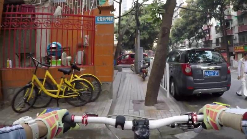 Вело прогулка по Гуанчжоу 1 марта 2018 Велосипедный тур Китай