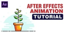 Motion Graphics - Potted Plant Animation After Effects Tutorial