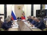 Встреча с руководством госкорпорации «Роскосмос»