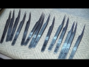 Производство пинцетов для наращивания ресниц EXTREME LOOK