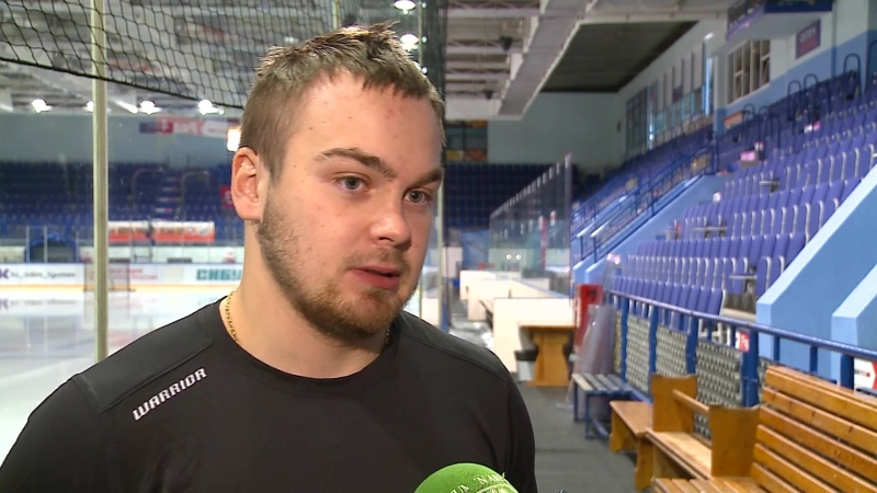 Защитник ХК «Рубин» Никита Кротиков - о матчах против «Динамо» и «СКА-Нева»