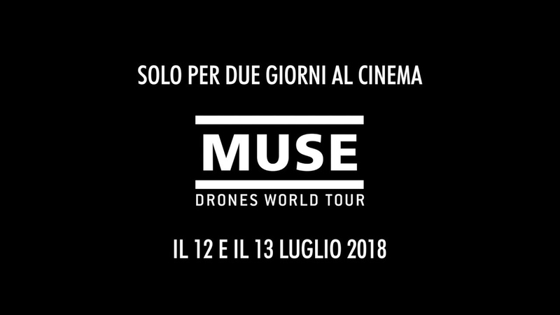 """MUSE Drones World Tour """"The Globalist"""" Teaser 🇮🇹 [In Cinemas Worldwide 12 July]"""