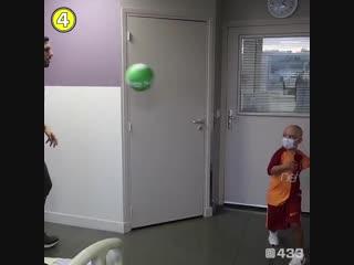 Футбол дарує радість, навіть якщо ти в лікарні