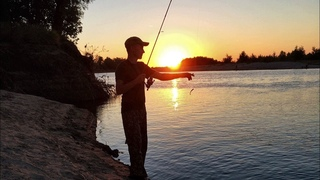 Рыбалка на реке Ахтуба 2018. Ловля на спиннинг. (LiveFishing)