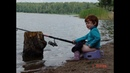 Приколы на рыбалке ловля руками Fun fishing fishing with your hands