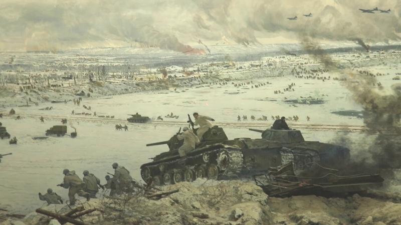 Диорама Прорыв блокады Ленинграда