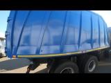 Очередная отгрузка ломовоза на шасси МАЗ с манипулятором ВЕЛМАШ VM10L74, кузов СКАТ, купить в Москве