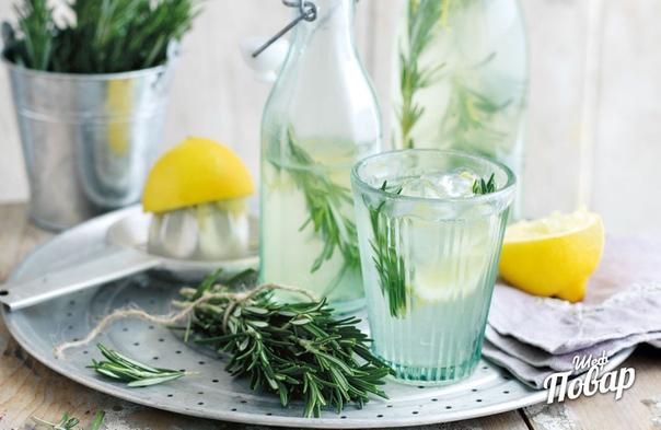 Розмариновый лимонад, идеален для жары