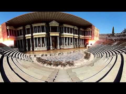 Guía virtual teatro romano de Mérida (baja)