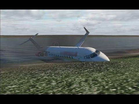 Авиамойка. В Оренбург на CRJ-200 для X-Plane 11