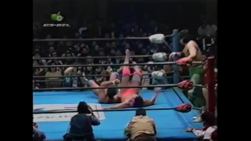 1997.11.23 - Kenta Kobashi/Johnny Ace vs. Mitsuharu Misawa/Jun Akiyama