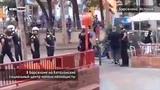 В Барселоне на каталонский социальный центр напали неонацисты