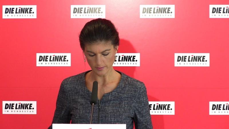 Sahra Wagenknecht, DIE LINKE Regierungshandeln ist ein einziges Trauerspiel
