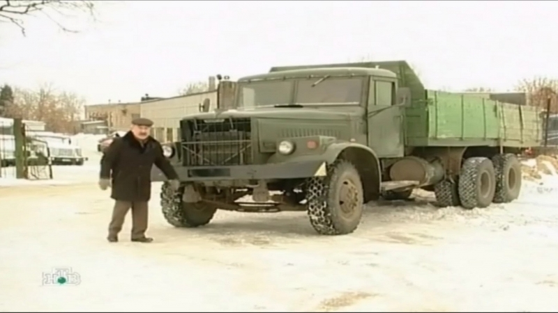 Грузовик КрАЗ СССР
