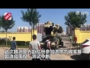 Man takes his self-built Transformer for a spin in Beijing, gets shooed away by security