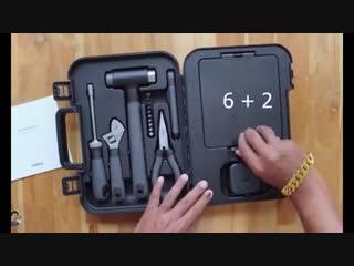 🛠 Набор инструментов Xiaomi MIIIW 6+2